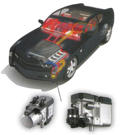 Webasto motor- och kupévärmare
