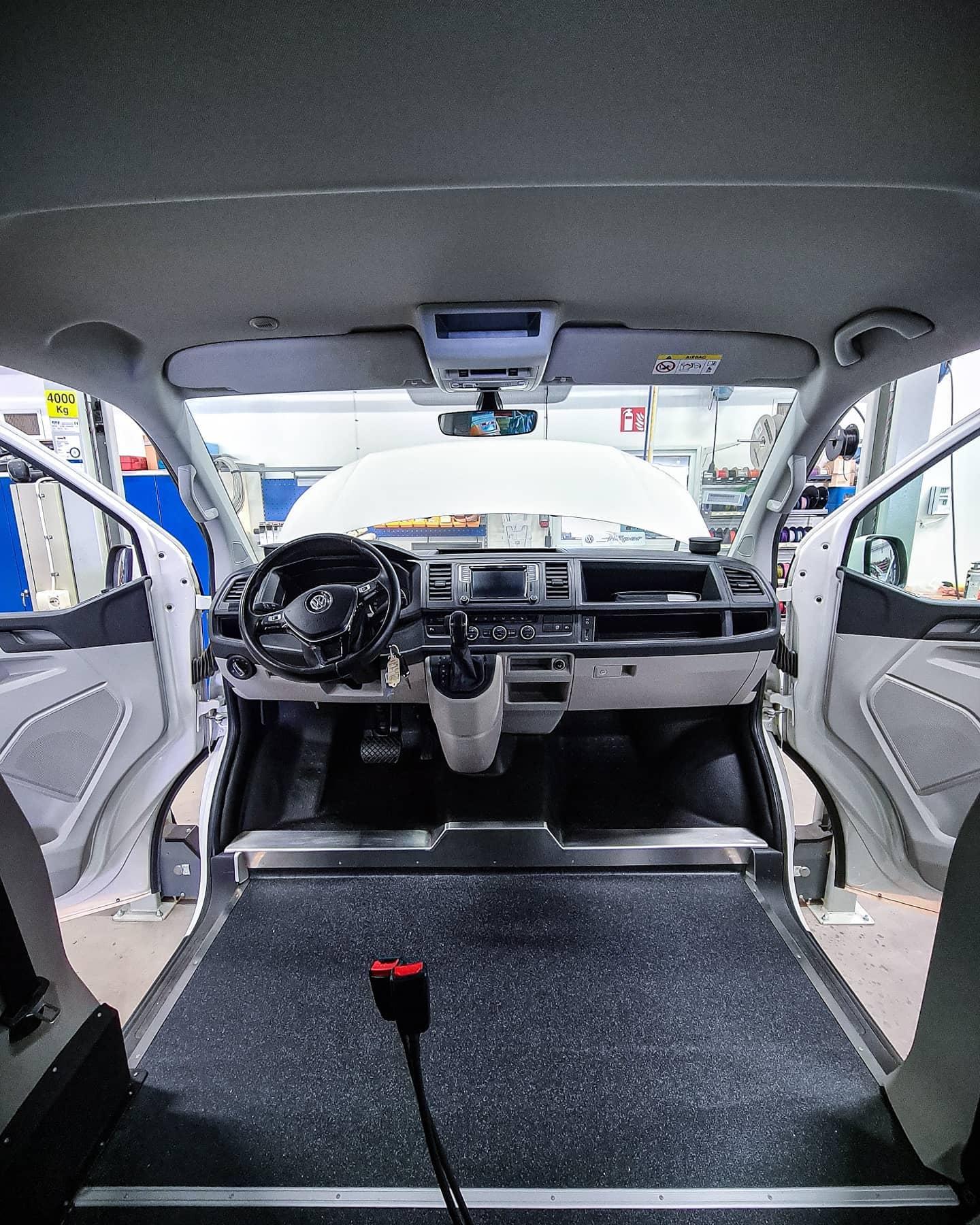 Golvsänkt VW Multivan